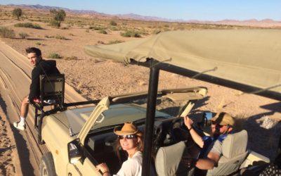 vehículo de expedición en Namibia