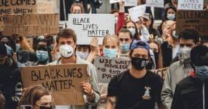Apoyando black lives matter