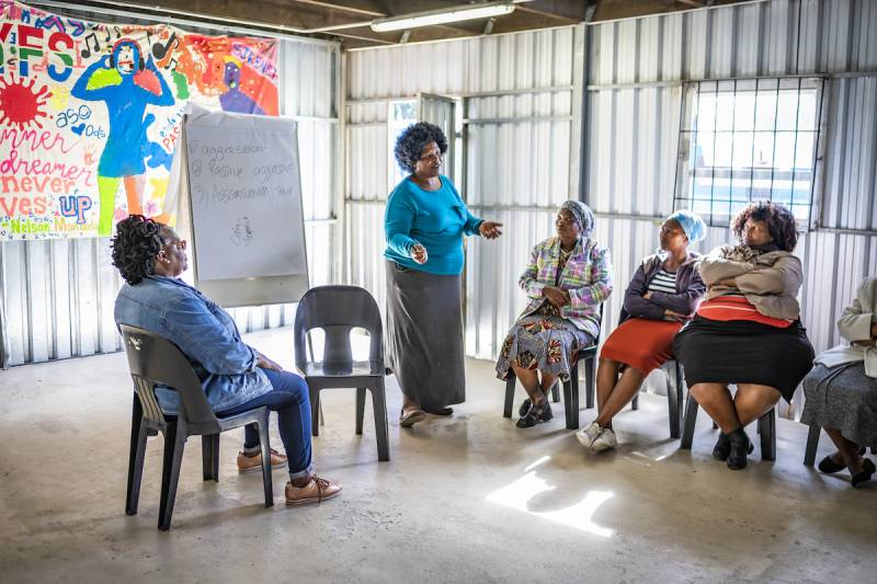 pasantía igualdad género áfrica