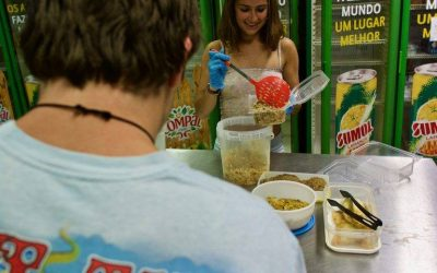 voluntariado contra el desperdicio alimentario. Oporto